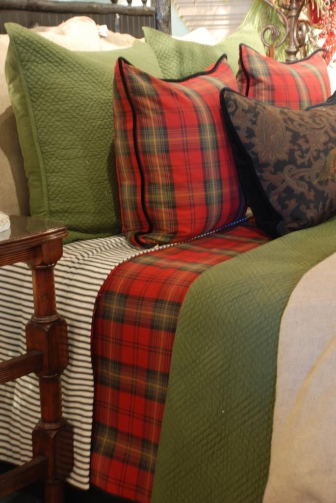 Adding the personality of plaid