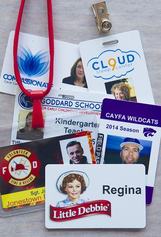 23 best ID Card Design images on Pinterest Name badges, Badge - id card