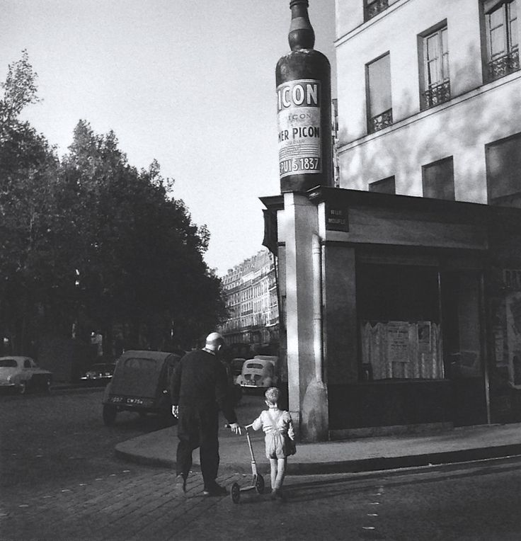Paris 1959 photo robert doisneau street photography - Office depot boulevard richard lenoir ...