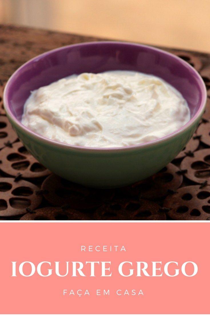Faça iogurte grego em casa - O preparo é muito fácil e econômico. Com apenas dois ingredientes você prepara o seu iogurte em casa e pode deixar de lado os produtos ultraprocessados.