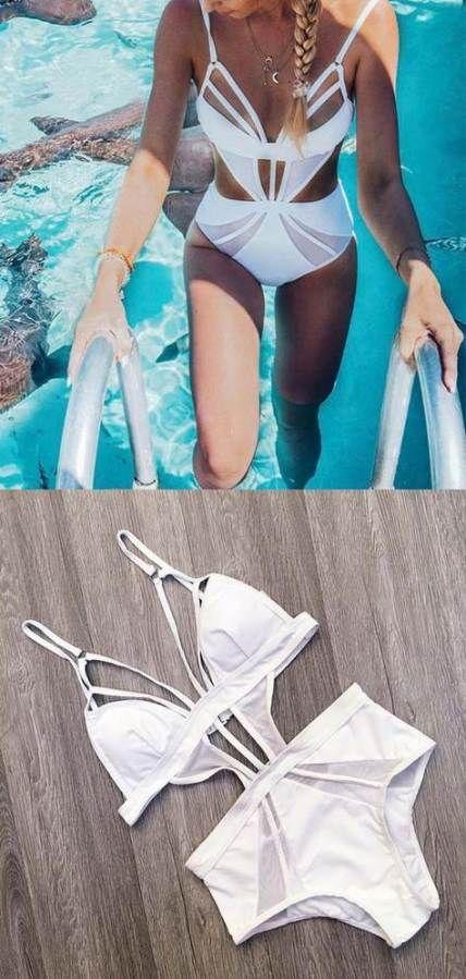 Costumi da bagno bikini bianco 23 idee