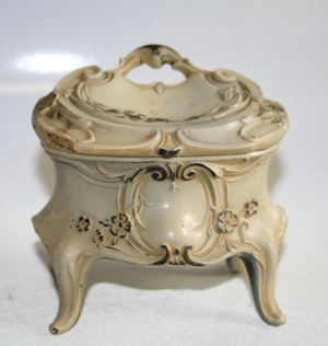 Antique Victorian Jewelry Box