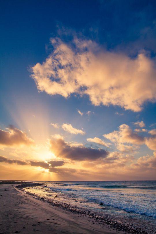 Santa Maria Sunrise, Sal | Cabo Verde (by Gustav Stening)