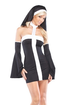 Wow they even make nuns a sluty ass costume