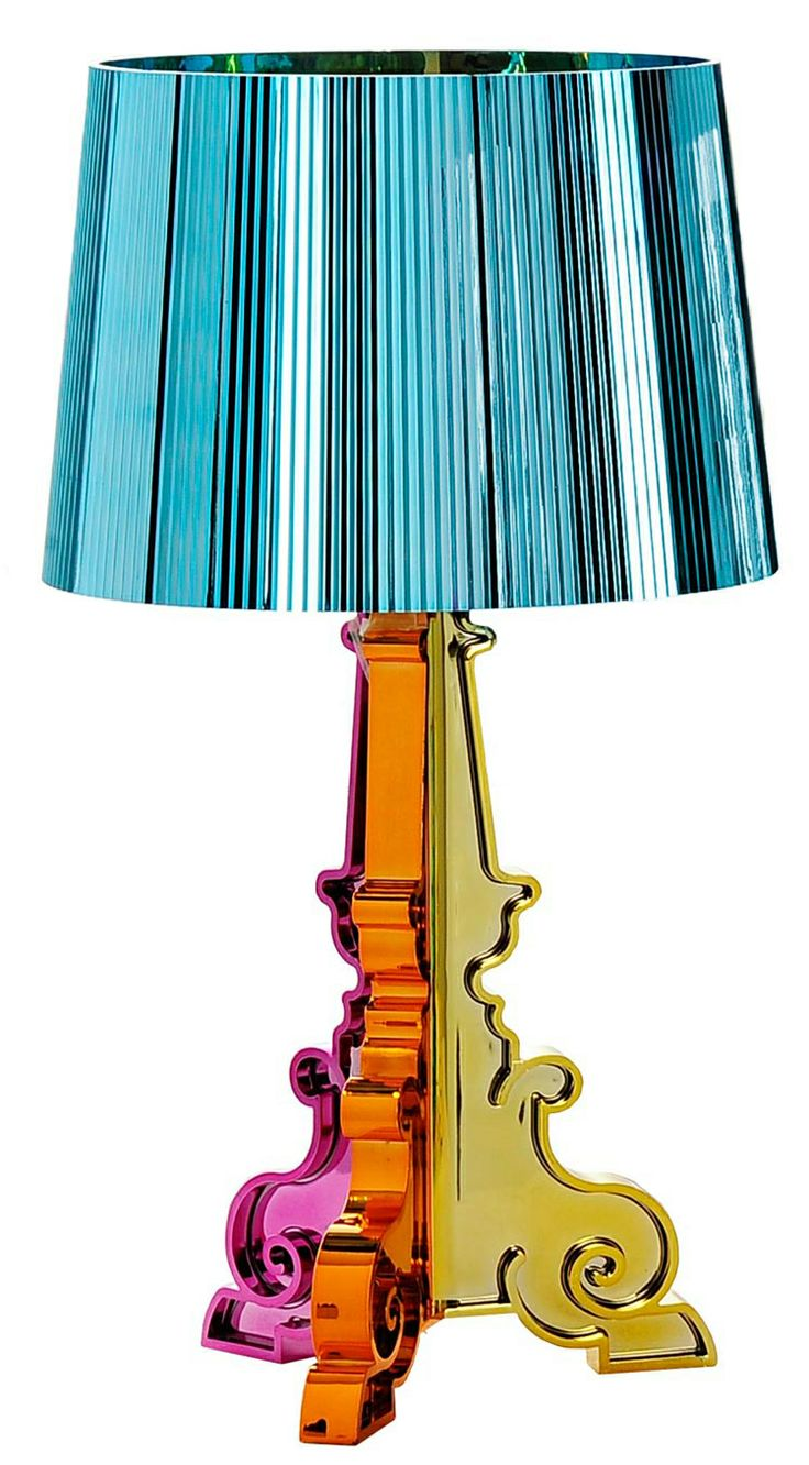 Kartell - Bourgie Lamp: Colour Tables, 2Modern Furniture, Kartel Bourgi, Blue Lamps, Bourgi Lamps, Wonder Lamps, Colour Lamps, Tables Lamps, Bourgi Tables