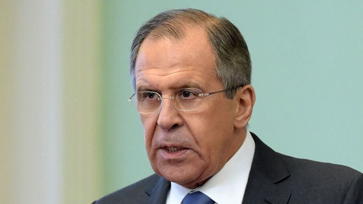 """Russian Foreign Minister Sergey Lavrov says he does not want to enter a """"race of bans"""" with the US over the withdrawal of RT's US Congress credentials"""