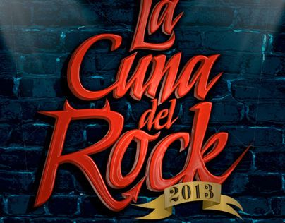 """Check out new work on my @Behance portfolio: """"La Cuna del Rock 2013"""" http://on.be.net/XvLuN6"""