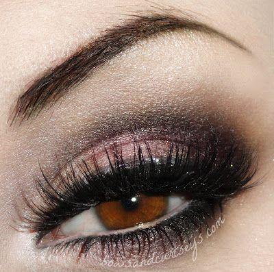 Pink & Black Smokey Eye