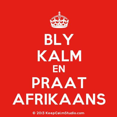 Afrikaans - ek kan dit gooi!!!