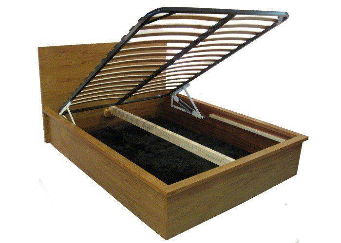 Rimu Custom Spring Lift Timber Bed Frame