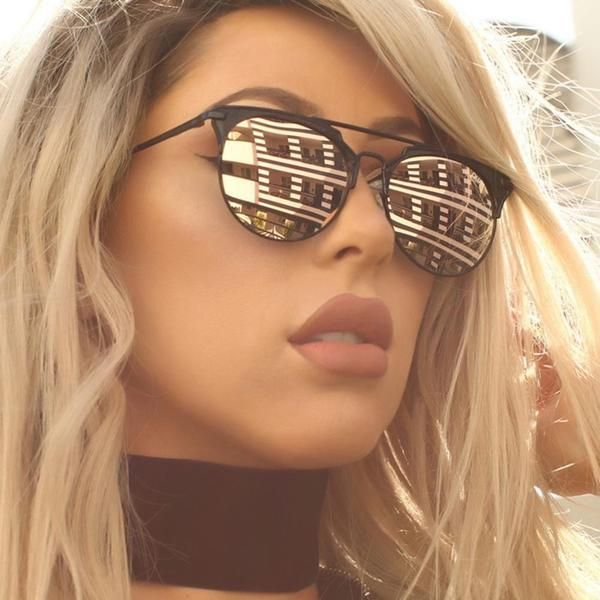 QUAY X CHRISSPY Metal Frame Polycarbonate Lens Stainless Steel Hinges Cat.3 Lens 100% UV protection black with pink lens or rose gold with pink lens Size- Width