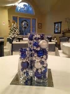 177 best winter ideas images on pinterest wedding ideas decor blue and silver christmas wedding centerpieces junglespirit Choice Image