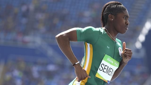 Olympics Rio 2016: Caster Semenya breezes into 800m semi-finals, GB's Lynsey Sharp also through - Rio 2016 - Athletics - Eurosport