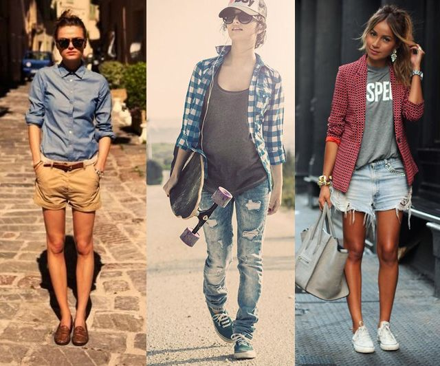 Girly tomboy style tips cute outfit ideas fashion - Cute tomboy outfits ...