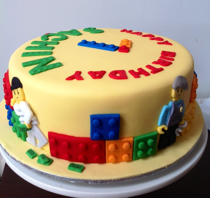 Simple Lego Cake Design Milofi Com For