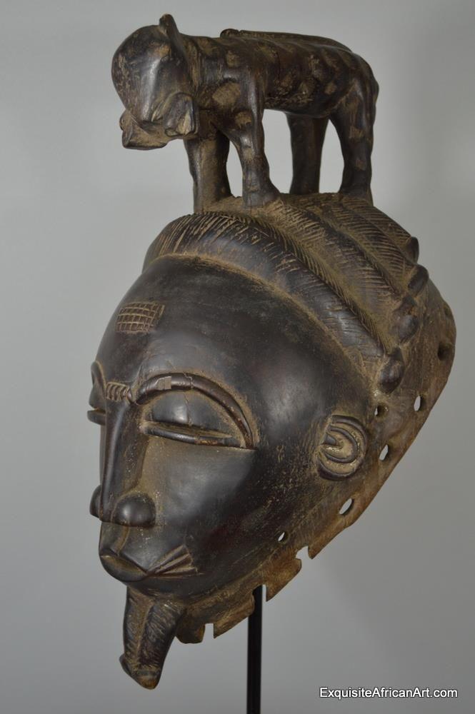 Baule Leopard Mask