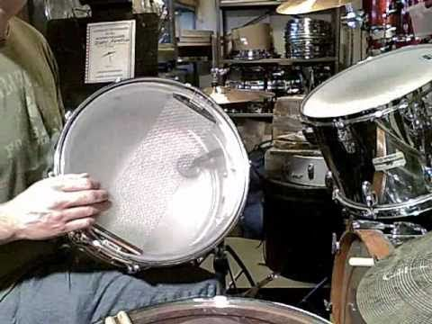 JOHN BONHAM SNARE DRUM TUNING - YouTube