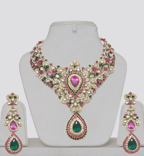 Indian Wedding Kundan Jewelry