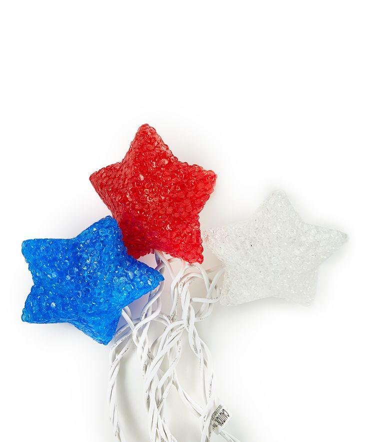 10-Light Sparkle Star Strand
