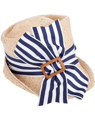 Straw and french stripes