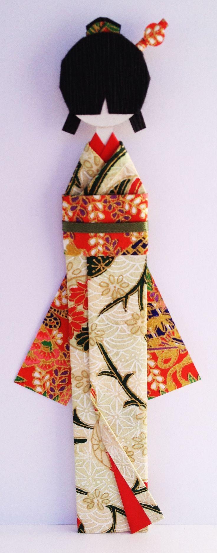 Holiday Japanese Bookmark