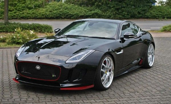 Jaguar F-Type Arden. Those red accents on the nose make the car!