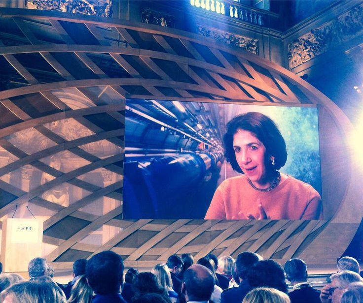 #Giovani e #futuro nel messaggio di #FabiolaGiannotti per #Italia2015 #raiexpo #expoidee #expo2015 #italia #worldfair #firenze