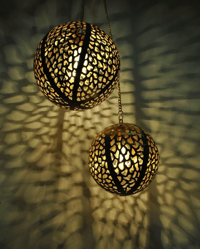 Sahil & Sarthak Rudraksh Hanging Light