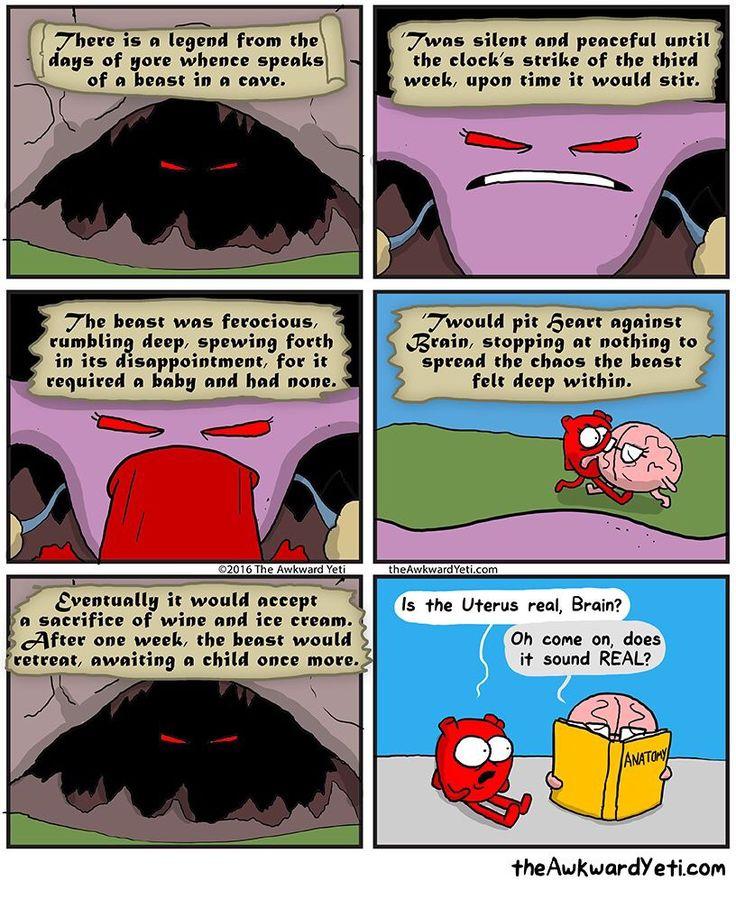 Uterus - Awkward Yeti comics