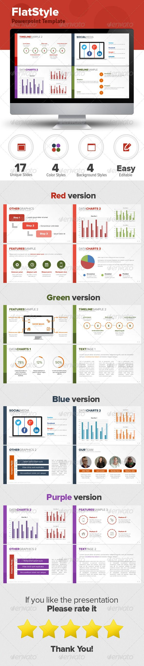 Flat Style Powerpoint Template : Check out this great #graphicriver item 'Flat Style Powerpoint Template' http://graphicriver.net/item/flat-style-powerpoint-template/5717997?ref=25EGY