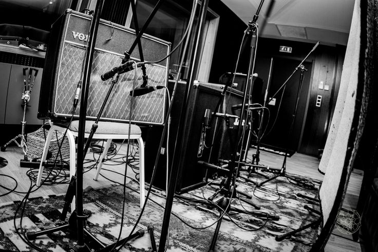 Behind the scenes photos from in the studio with I Am Giant recording their sophomore album Science & Survival @ Drop In Studios Saint-Jean-de-Luz France.