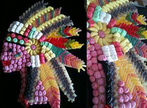 Le Candy Bar   Kit Anniversaire Décoration Sweet table: Anniversaire thème les Cowboys et les Indiens