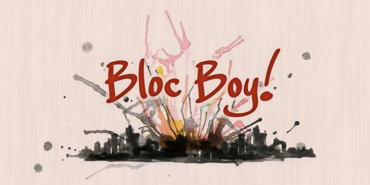 Bloc Boy font download