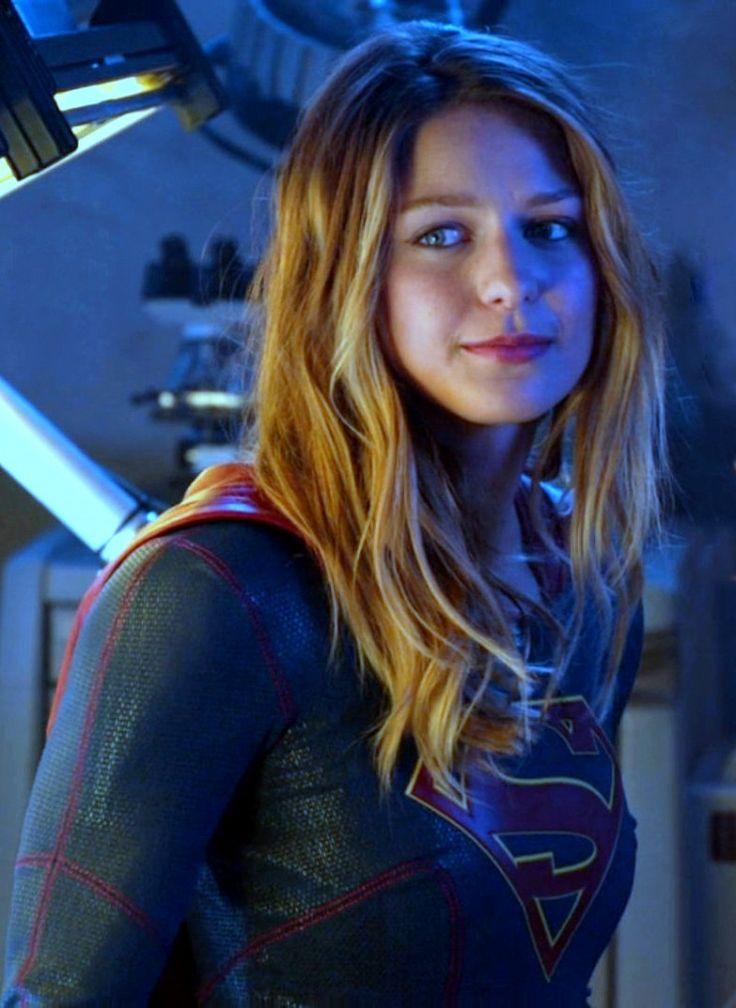 melissa benoist as kara zorel in supergirl hair