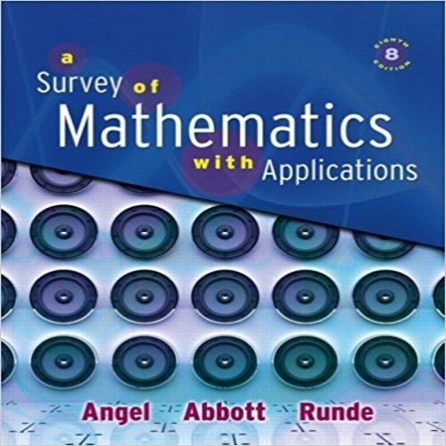 128 best test bank images on pinterest manual textbook and user guide test bank for a survey of mathematics with applications 8th edition by angel abbott and runde fandeluxe Choice Image