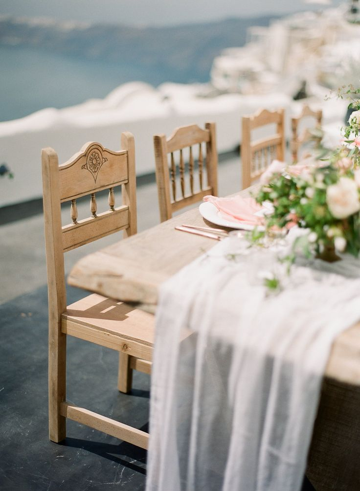 Rustic Details and decorations | Luxury Weddings in Santorini