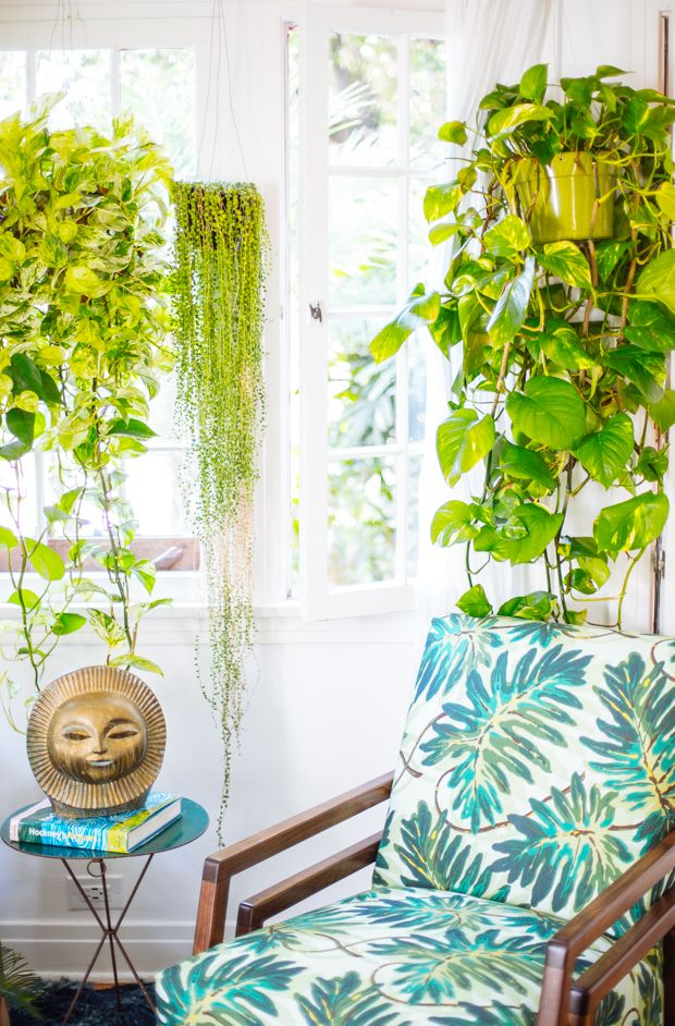 Justina Blakeney's Home with Paul Bellardo Sun Sculpture