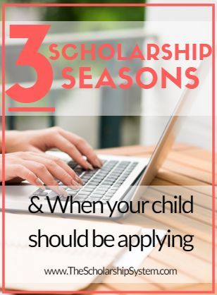 Scholarships For College Students >> When Your Child Should Start Applying For Scholarships