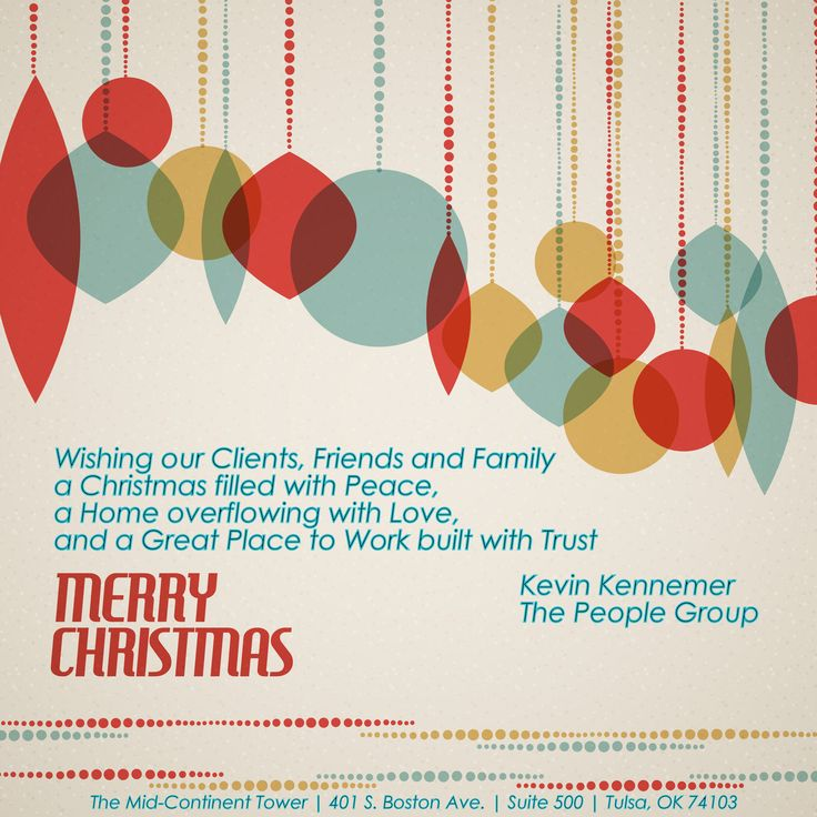 how to write christmas cards to clients - Business Holiday Card Messages
