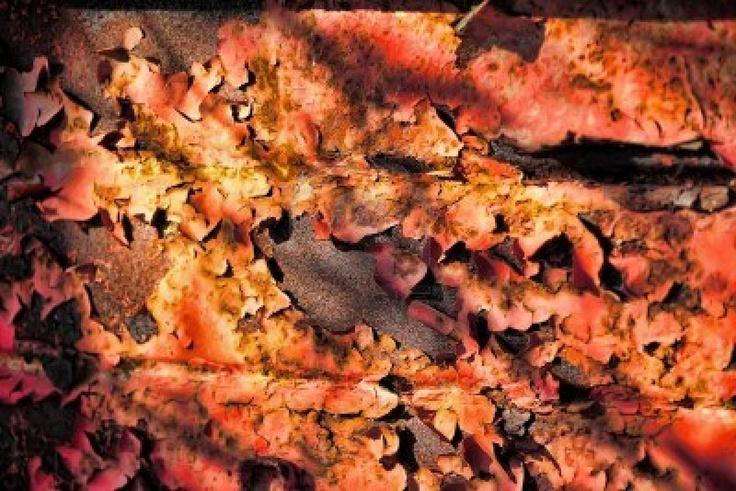 Grunge roestige metalen structuur Stockfoto