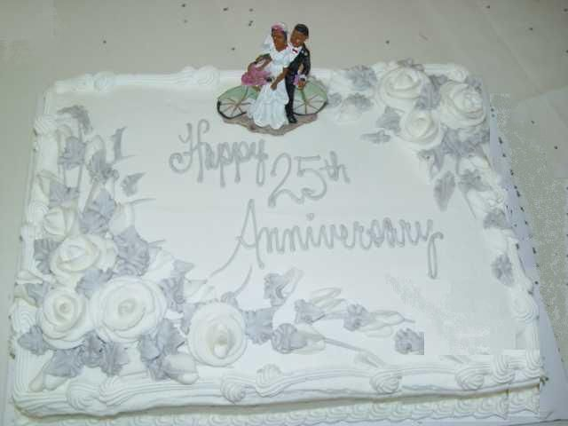 Cake Designs For 25th Anniversary : 25th anniversary cakes designs 25th Wedding Anniversary ...