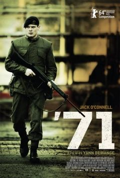 '71 film review starring Jack O'Connell | Excellent. Even better when you considered it's from a debut director!