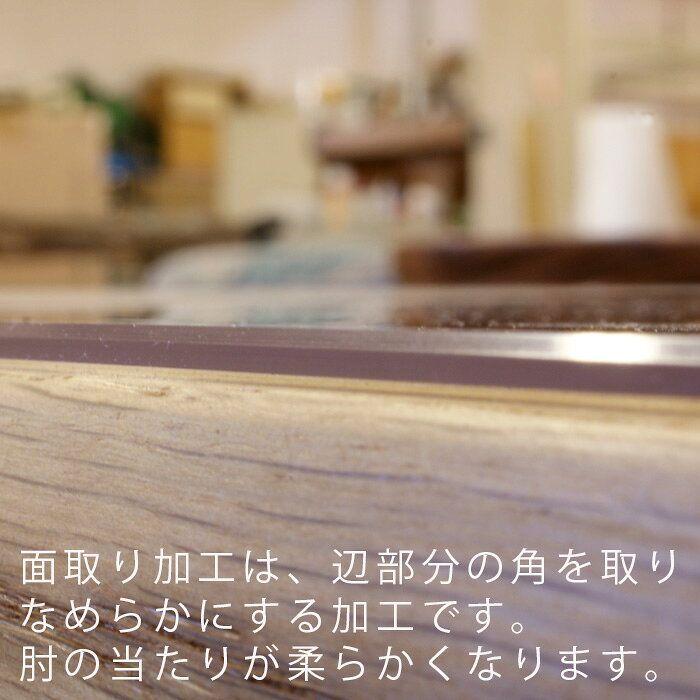 楽天市場 テーブルマット オーダータイプ 厚さ2mm 透明 クリアー 非密着 貼りつかない ビニールマット 無垢材の家具通販 箱屋の八代目 画像あり テーブルマット 密着 ビニール