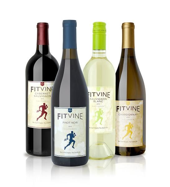 Fitvine Wine, no residual sugar, less sulfites and additives. Healthier wine