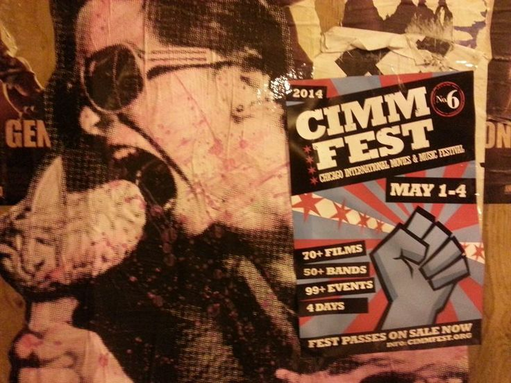 #behindthescenes : #Chicago 10:30pm. The march continues. #CIMMfest 2014. #MayDay or bust!! #film #music #city #festival