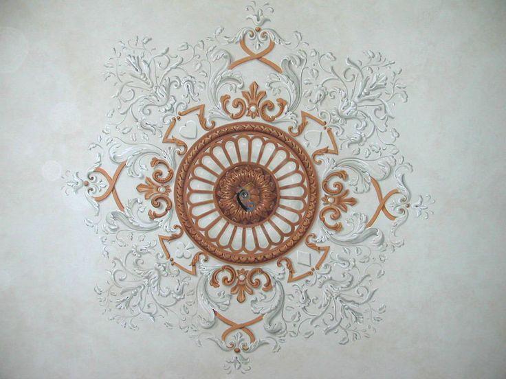 роспись потолка 1