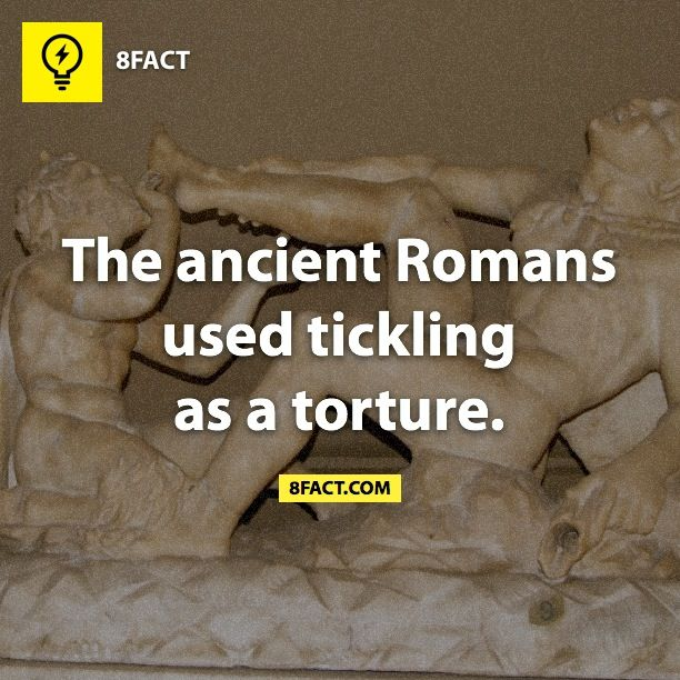 8fact   Tickling Torture  It is certainly torture xD