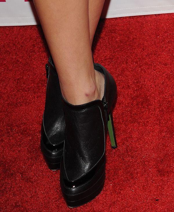 """Olivia Holt in Ruthie Davis """"Walden"""" boots"""