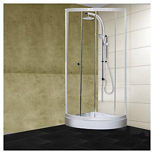 Sensi Dacqua Combo Cabina ducha con receptáculo + Columna ducha 2 funciones