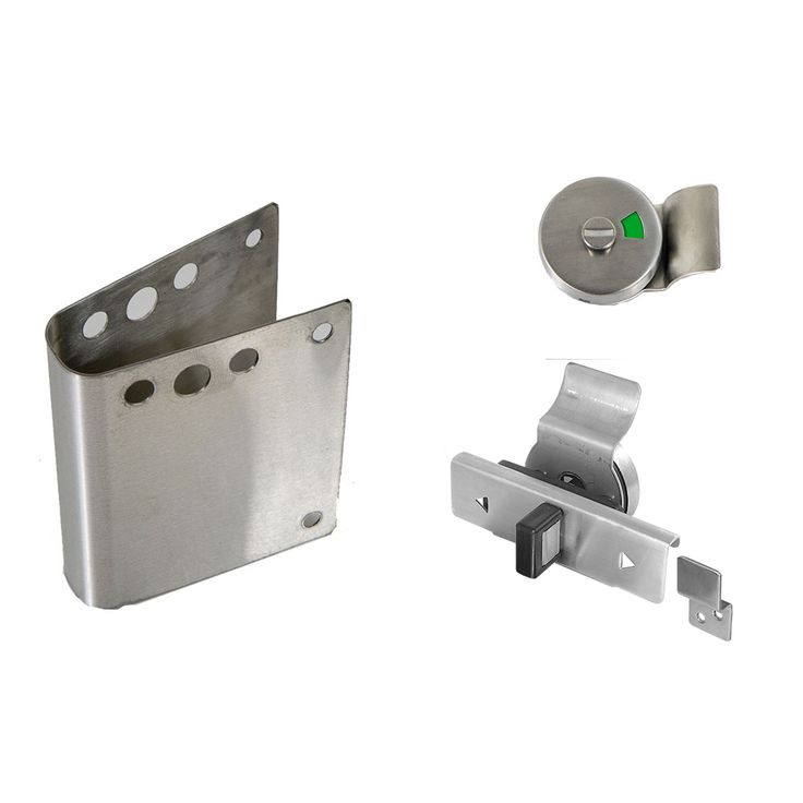selling ada concealed latch fix it kit with indicator for handicap partition doors your one stop shop for bathroom hardware and partitions